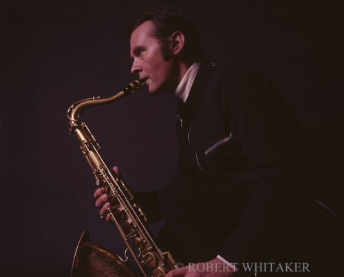 Stan Getz.  Photo - Robert Whitaker