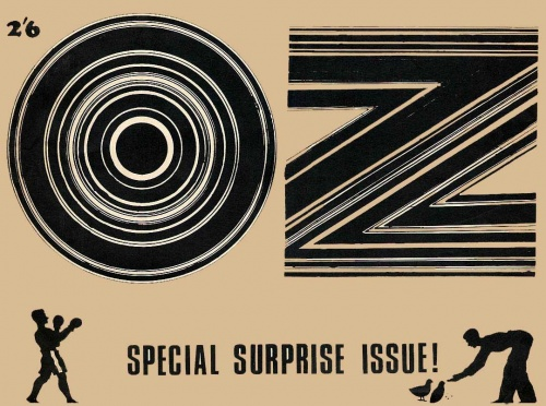 Oz Magazine Cover