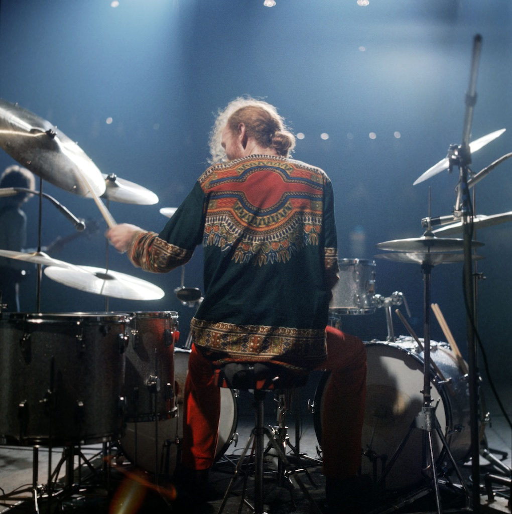 Ginger Baker Drumming