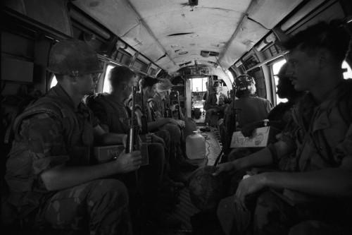 Marines with Pepsi