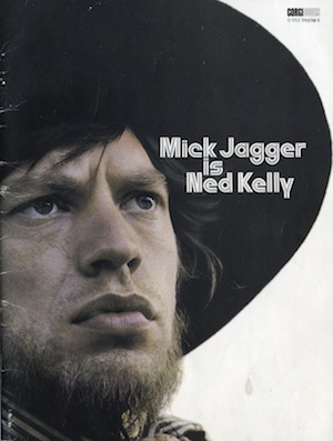 Mcik Jagger is Ned Kelly