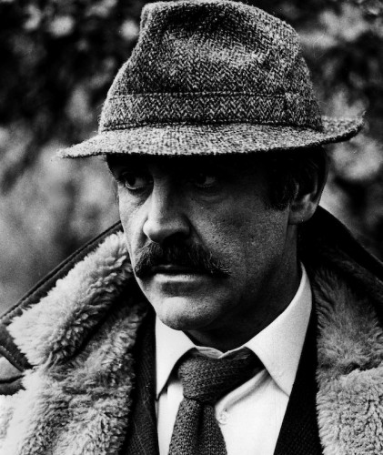 "Actor Sean Connery as Detective-Sergeant Johnson in the film ""The Offence"".  Photo - Robert Whitaker"
