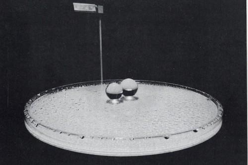 Liquid Reflections by Liliane Lijn, 1969.  Photo - Robert Whitaker.